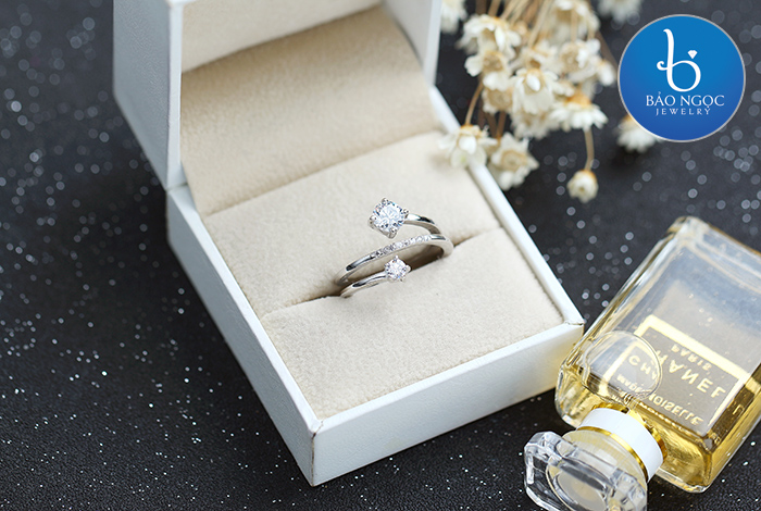 Nhẫn bạc nữ N-6303