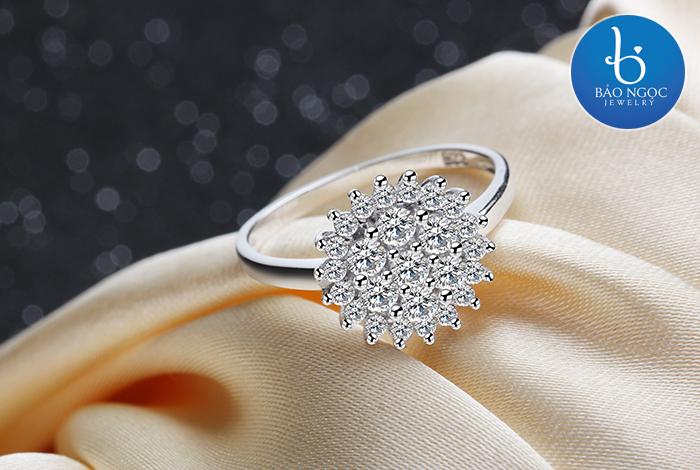 Nhẫn bạc nữ N-6403