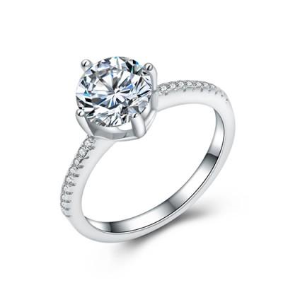 Nhẫn bạc nữ N-4404