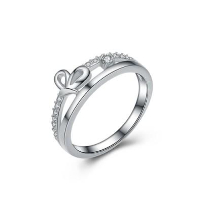 Nhẫn bạc nữ N-4304