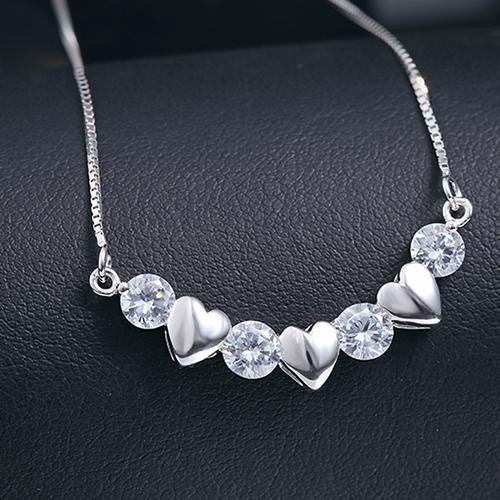 Mặt Dây bạc nữ đẹp DB-0806