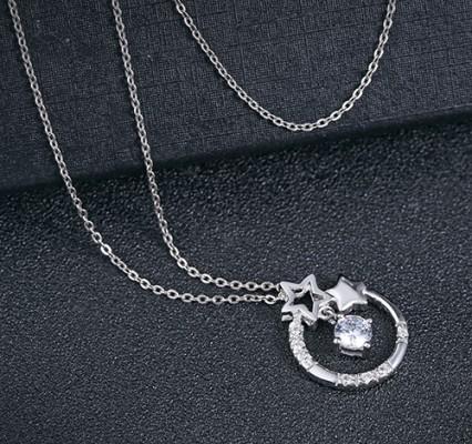 Dây chuyền bạc cho nữ. M-0306