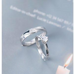 Nhẫn đôi nam nữ cao cấp